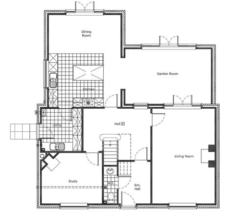 drawing a house plan building drawing plan modern house