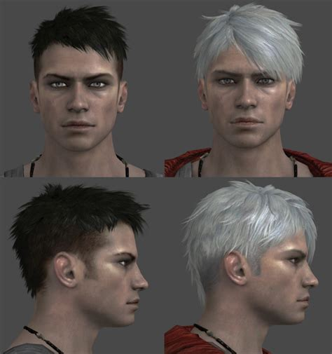 Model Rambut Dante Dmc 5 by May Cry On White Shrine Deviantart