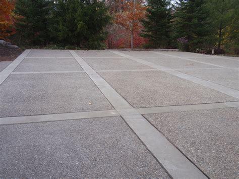 concrete driveway layout design decorative concrete albaugh masonry stone and tile inc