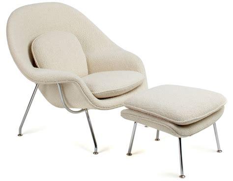 Womb chair amp ottoman hivemodern com