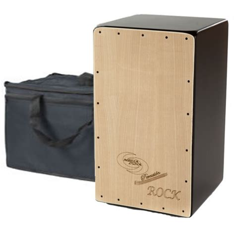 cajon rock cajon flamenco rock funda media luna percusion