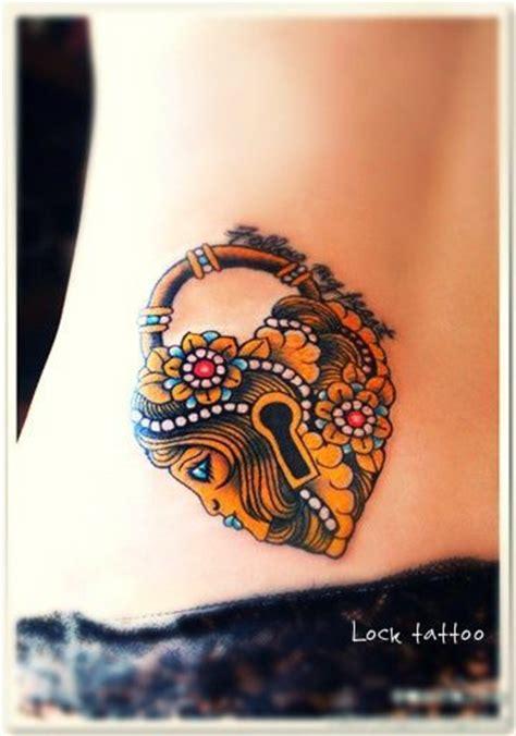 herz schloss tattoo tattooideecom