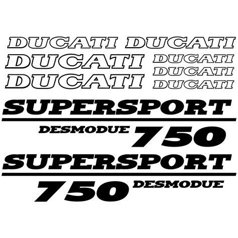 Ducati Pantah Aufkleber by Stickers Ducati 750 Desmo Pas Cher