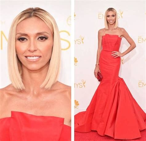does guiliana rancic wear extensions giuliana rancic looked fabulous at the emmy s with her