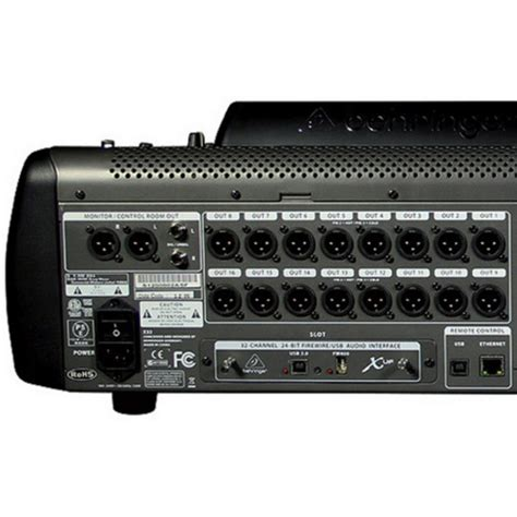 Behringer 16 Channel Digital Mixer behringer x32 32 channel digital mixer nearly new at
