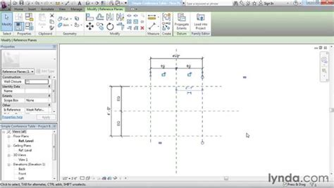 revit constraints tutorial adding reference planes constraints and parameters