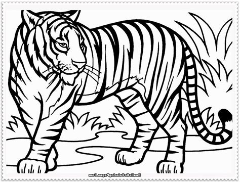 coloring page of tiger tigers coloring page coloring page art