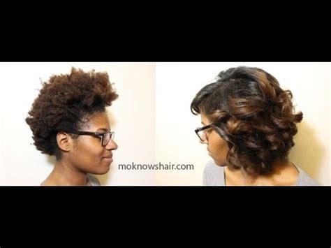 how to trim 4c hair soften straighten trim 4c hair youtube