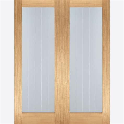 pattern 10 french glazed oak door oak pattern 10 clear glazed internal interior glass wooden