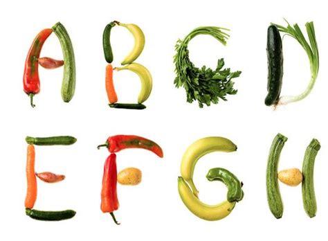 vegetables 5 letters vegetable letters clipart 12