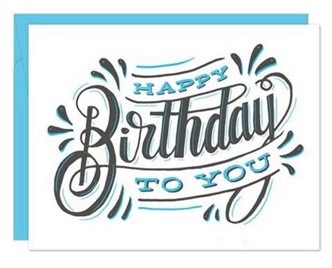 happy birthday card design inspiration pin von terri menard auf lettering pinterest