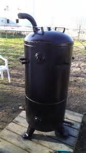 Handmade Pits - vertical smoker cast iron outdoor cooking