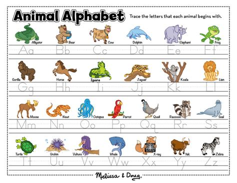 7 Letter Word Animal Names 7 Best Images Of Animal Alphabet Letters Name Alphabet