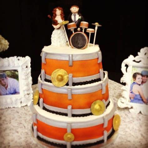 Drum Kit Wedding Cake   Music   Pinterest   Drum kit
