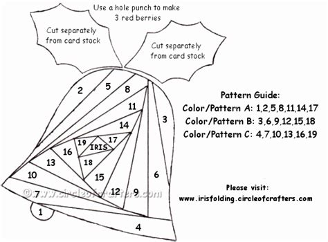 Free Paper Folding Patterns - free printable iris folding patterns cards 4