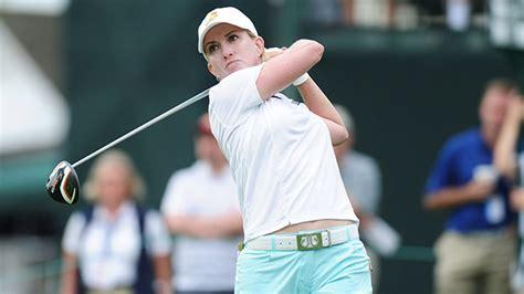 karrie webb golf swing karrie webb in top form at u s women s open