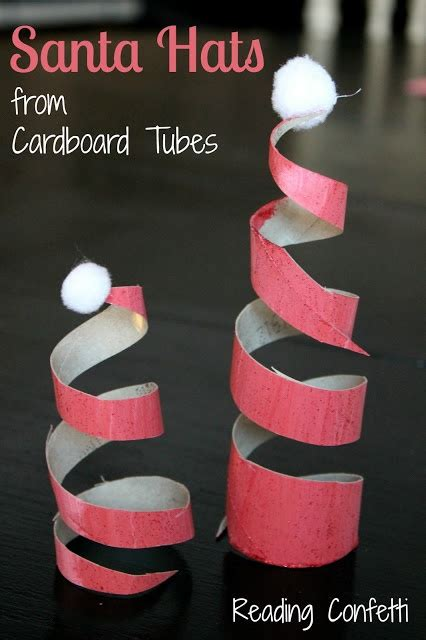 Toilet Paper Santa Craft - 506 best toilet paper roll crafts images on