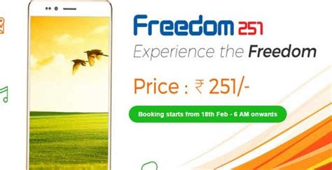 Hp Bell Freedom freedom 251 price in india specifications and