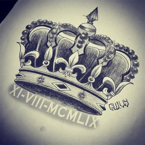 crown tattoo designs for men crown drawing search