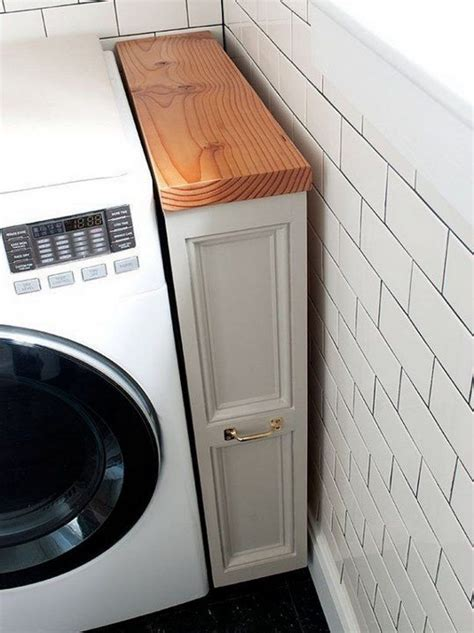 Laundry Room Storage Between Washer And Dryer Clever Laundry Room Storage Solutions