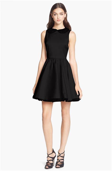 beaded collar dress lollie beaded collar dress in black lyst