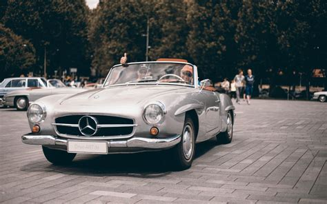 Oldtimer Auto by Cars Coffee Oldtimer Treffen Mercedes Museum