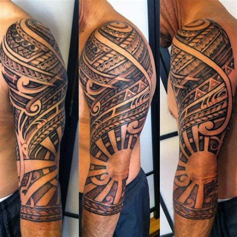 tribal sun tattoos for men 70 sun designs for a symbol of and light
