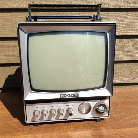 transistor tv vintage sony all channel transistor tv receiver 9 304uw mini 9 quot television tokyo from my