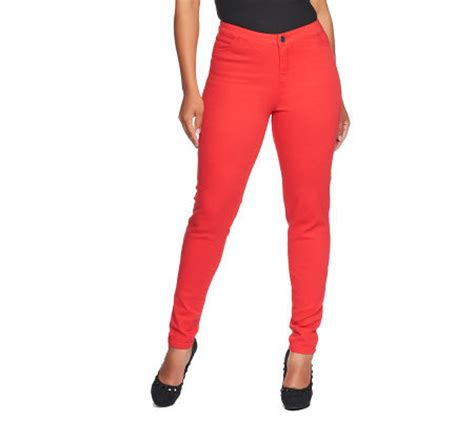 how does lisa rinna stay skinny lisa rinna collection fly front skinny jeans with pockets