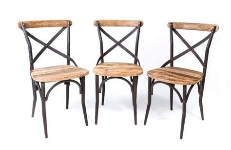 chaise bois metal occasion thesecretconsul