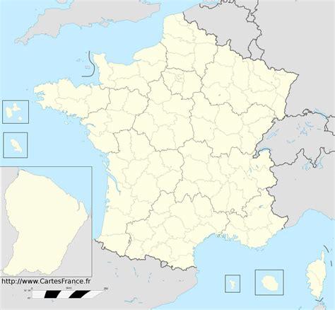 carte de france departement carte des departements francais