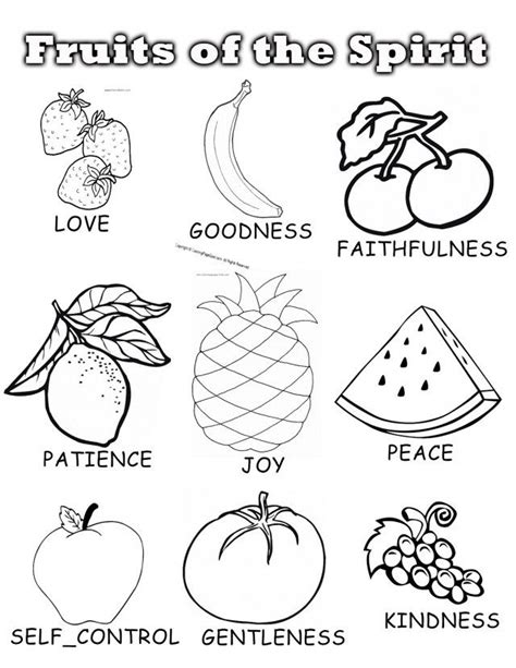 8 fruits of the spirit 8 best fruit of the spirit images on fruit of