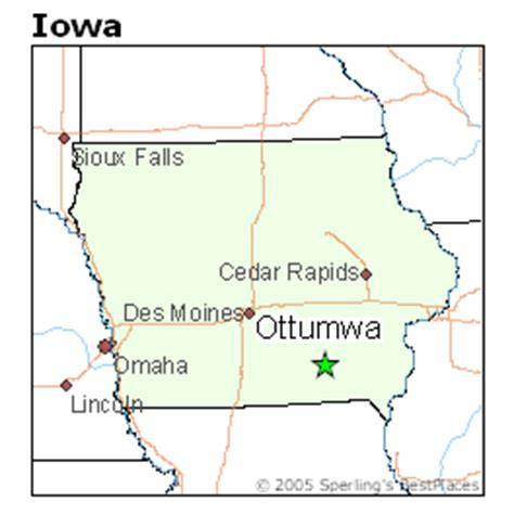 best places to live in ottumwa, iowa