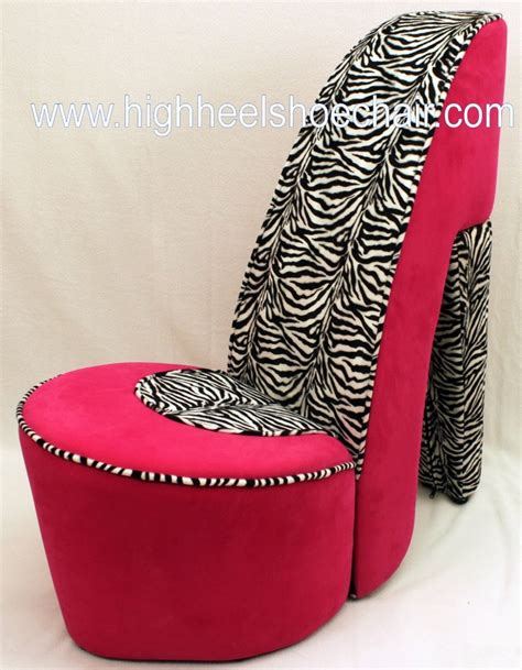 cool funky high heel shoe chairs for less