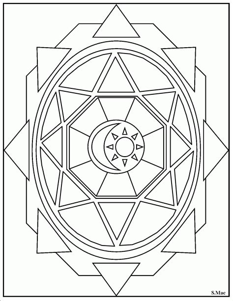 geometric coloring pages repeating geometric coloring pages coloring pages