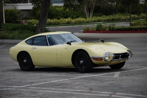 Toyota 2000gt For Sale Bat Exclusive Preserved 1967 Toyota 2000gt Bring A Trailer