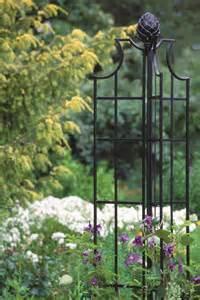 Vertical Gardening Containers - classic garden obelisks classic garden elements
