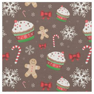 christmas pattern fabric uk christmas fabric for sewing quilting crafts zazzle co uk