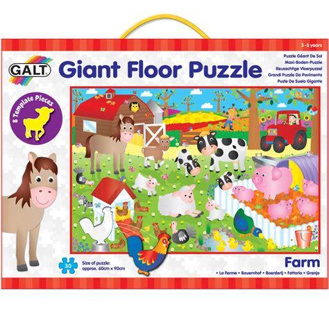Floor Puzzles by Floor Puzzle Farm Galt Toys