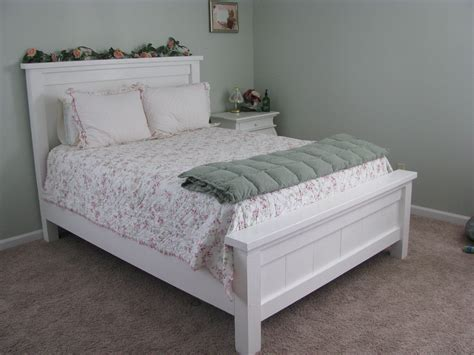 diy farmhouse bed full version a lesson learned ana white shabby chic farmhouse bed diy projects