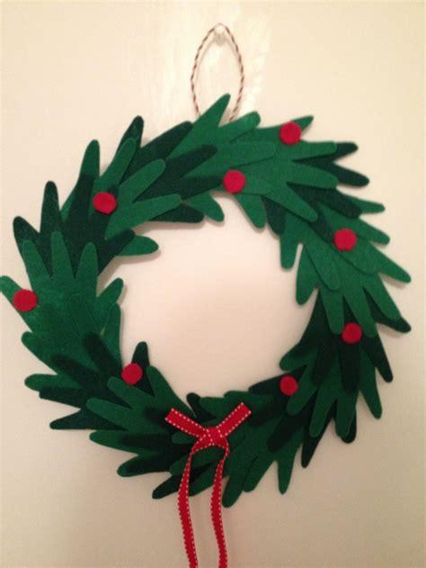 printable paper holly wreath pinterest