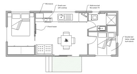 two bedroom cabin floor plans two bedroom cabins launceston park legana