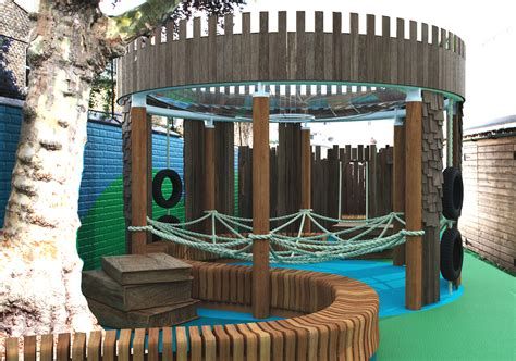 treehouse to play middle earth school playground design project underway