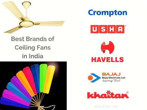 what is the best ceiling fan brand best brands of ceiling fans in india