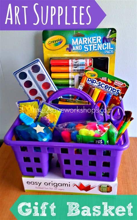 Nice Christmas Staycation Ideas #4: Art-supplies-gift-basket.jpg