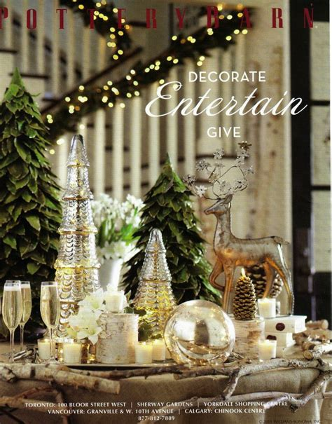 holidays pottery barn style images  pinterest