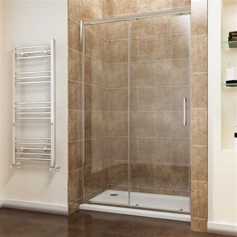 Elegant Screen Cubicle 8mm Easy Clean Sliding Shower Doors Easy Clean Shower Doors