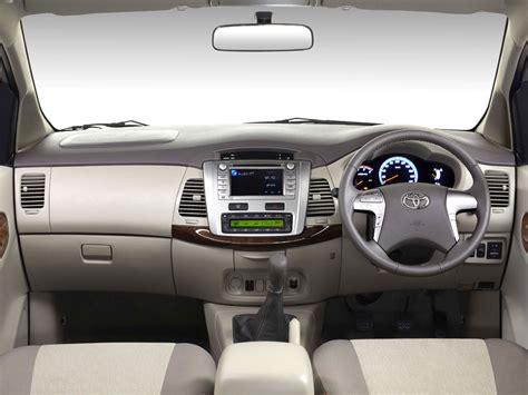 toyota innova facelift interior spied autoevolution