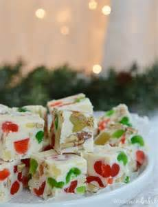 fruitcake white chocolate fudge recipe wonkywonderful
