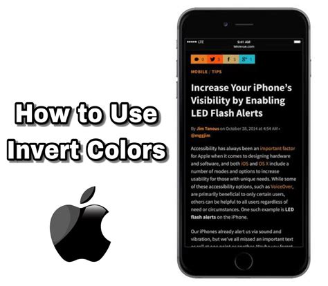 how to invert colors on how to use invert colors on iphone 2 methods